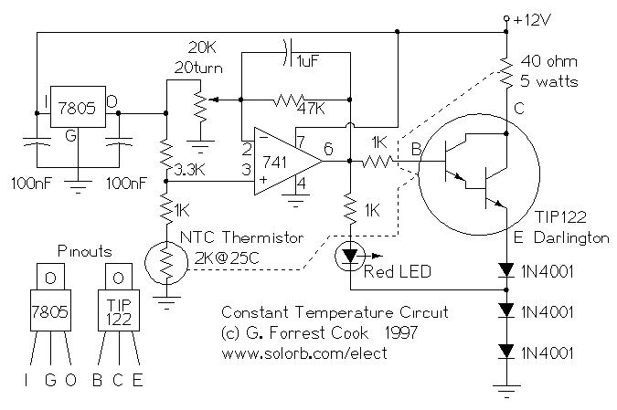 Constant Temperature Circuit