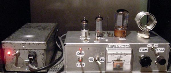 The 40 30 Cw Transmitter
