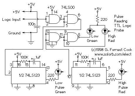 Superb Ttl Pulse Reading Logic Probe Wiring Digital Resources Bemuashebarightsorg