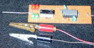ttl pulse reading logic probe