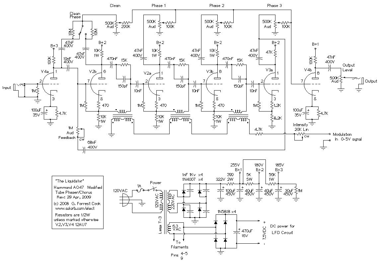 liquidator tube phaser  chorus effect
