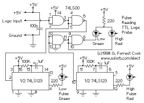 Logprobe on Logic Probe Circuit Diagram